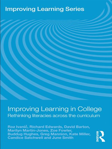 Download Improving Learning in College: Rethinking Literacies Across the Curriculum Pdf