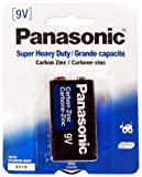 Single Pack Of Panasonic Brand Super Heavy Duty 9V Battery : ( Pack of 12 Pcs. ) Computers, Electronics, Office Supplies, Computing