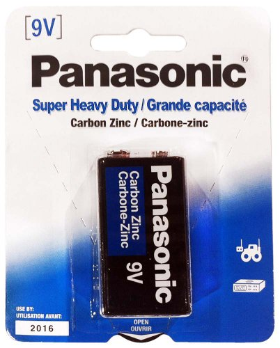Single Pack Of Panasonic Brand Super Heavy Duty 9V Battery : ( Pack of 12 Pcs. ) Computers, Electronics, Office Supplies, Computing by Panasonic