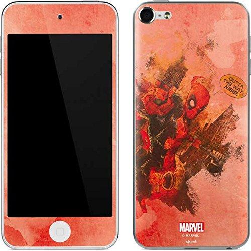 Marvel Deadpool iPod Touch (6th Gen, 2015) Skin - Deadpool Nerd Vinyl Decal Skin For Your iPod Touch (6th Gen, 2015)