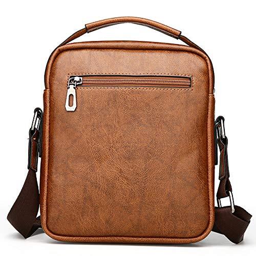 Business Messenger una frizione Bag spalla For gialla lavoro Wdbao Men nEHRw