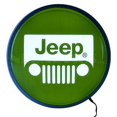 """Neonetics Jeep Backlit LED Lighted Sign, 15"""""""