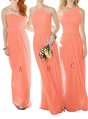 Leader Coral A Beauty the of Damen Linie A Kleid frfCOqH