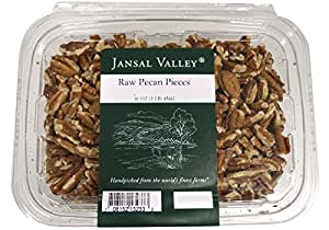 Jansal Valley Raw Pecan Pieces, 1 Pound
