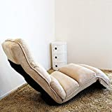 Long single lazy couch tatami Japanese style creative leisure sofa Chair Bay window seat , coffee color