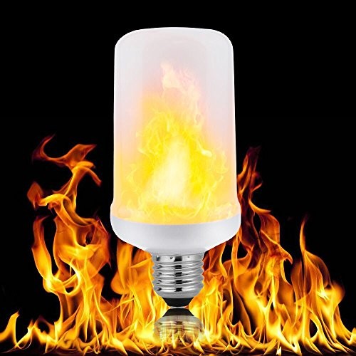 Quality Effects (Filstraw Super High Quality LED Flame Effect Fire Light Bulbs for Hotel/ Bars/ Home Decoration/ Restaurants 1 Pack)