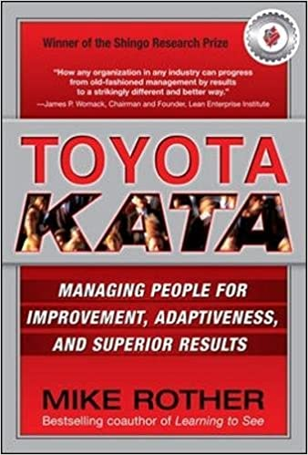 Toyota Kata book