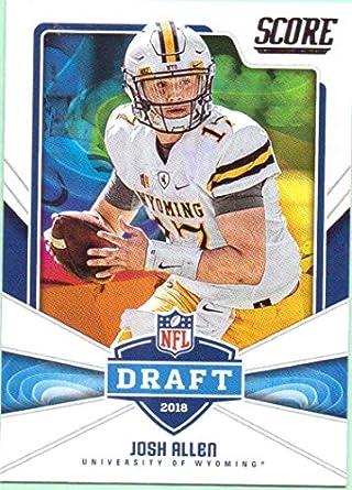 fa6aa21d8 Josh Allen 2018 Score NFL Draft Rookie  5 - Buffalo Bills