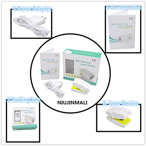BULLKEYS Nail Cleaning Laser Device,Nail Fungus Treatment Laser,Safe Fungus Remover Treatment And Toenail Fungus Treatment Revolutionary For Toe And Finger Nails To Use At-Home