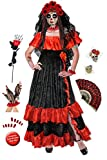 Dia de los Muertos Day of the Dead Plus Size Halloween Costume