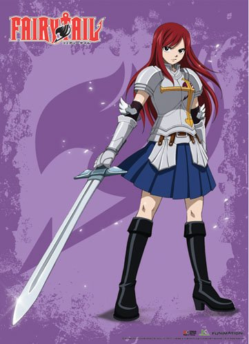 Wall Scroll – Fairy Tail – New Erza Scarlett Anime ge60548 Toys Lizenzprodukt ge60548 Anime a49672