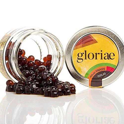 4 x 50 g Gloriae Perlas de Vinagre de Vino Pedro Ximénez Tarro 60 g: Amazon.es: Alimentación y bebidas