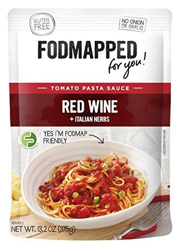 FODMAPPED - Low FODMAP Red Wine Pasta Sauce 13.2OZ (375g)