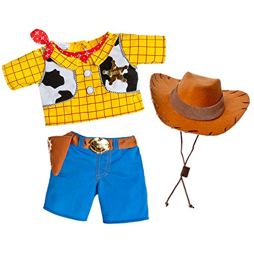 Build A Bear Workshop Woody Costume 3 pc. -
