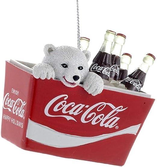 Good Friends Coke Coca Cola Polar Bear Santa Claus Christmas Cel Ad NEW