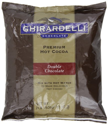 Ghirardelli Chocolate Premium Hot Cocoa Mix, double chocolat, 32 once Package
