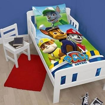 Pat  patrouille Parure de lit pour enfant comprenant une housse de couette  et une taie afb7dfb82057