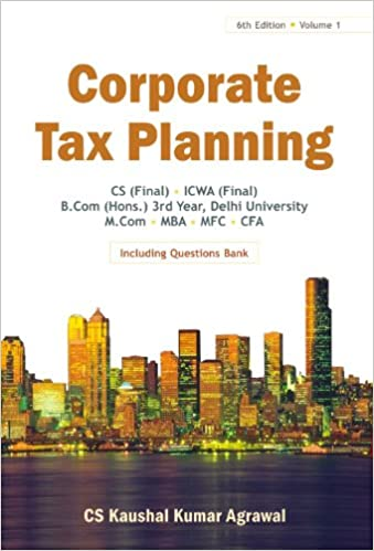 Income Tax Planning Textbook
