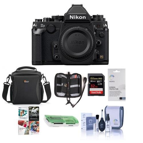 Nikon DF FX-Format Cámara réflex Digital con Kit de Accesorios ...