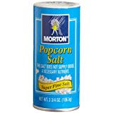 Morton Popcorn Salt, 3.75-Ounce (Pack of 12)