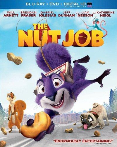 The Nut Job (Blu-ray/DVD, 2014, 2-Disc Set, Includes Digital Copy; UltraViolet)