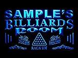 pj-tm Name Personalized Custom Billiards Pool Bar Room Neon Sign
