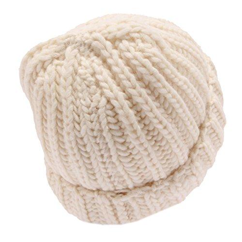 Hat 1036w Panna Woman Wool Donna Cuffia Woolrich Ivory qzwgXdP