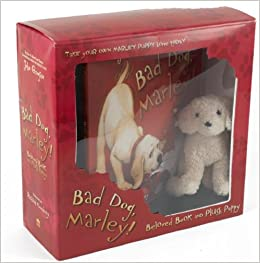 Bad dog marley beloved book and plush puppy john grogan richard bad dog marley beloved book and plush puppy john grogan richard cowdrey 9780061434969 amazon books fandeluxe Images