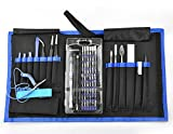 Precision Screwdriver Tool Kits 75 in 1 Repair Tool Kit, Screwdriver Kit with Portable Pouch for PC, Mobile Phone, Watch, Digital Camera and Other Electronics#11-LSDTZ