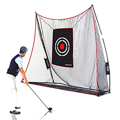 Galileo Golf Practice Net Golf Hitting Nets Driving Range Indoor&Outdoor Golf Training Aids with Target&Carry Bag