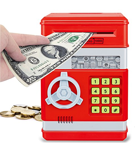 Which is the best piggy bank key lock?