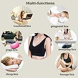 PRETTYWELL Sleep Bra for Women, Comfort Seamless