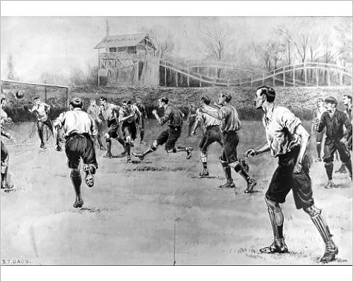 Photographic Print of Nottingham Forest vs. Derby County F.A. Cup Final, 1898