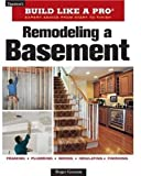 Remodeling a Basement, Roger German, 1600852920