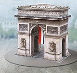 Aue Verlag Schreiber-Bogen Card Modelling Arc de Triomphe in Paris