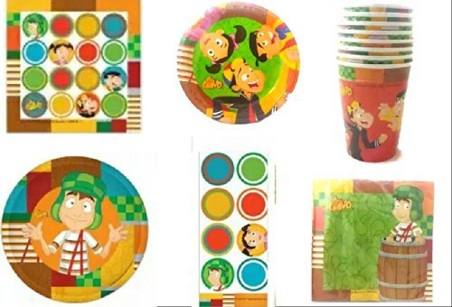 El Chavo Del Ocho Deluxe Party Pack for 16 Guests!