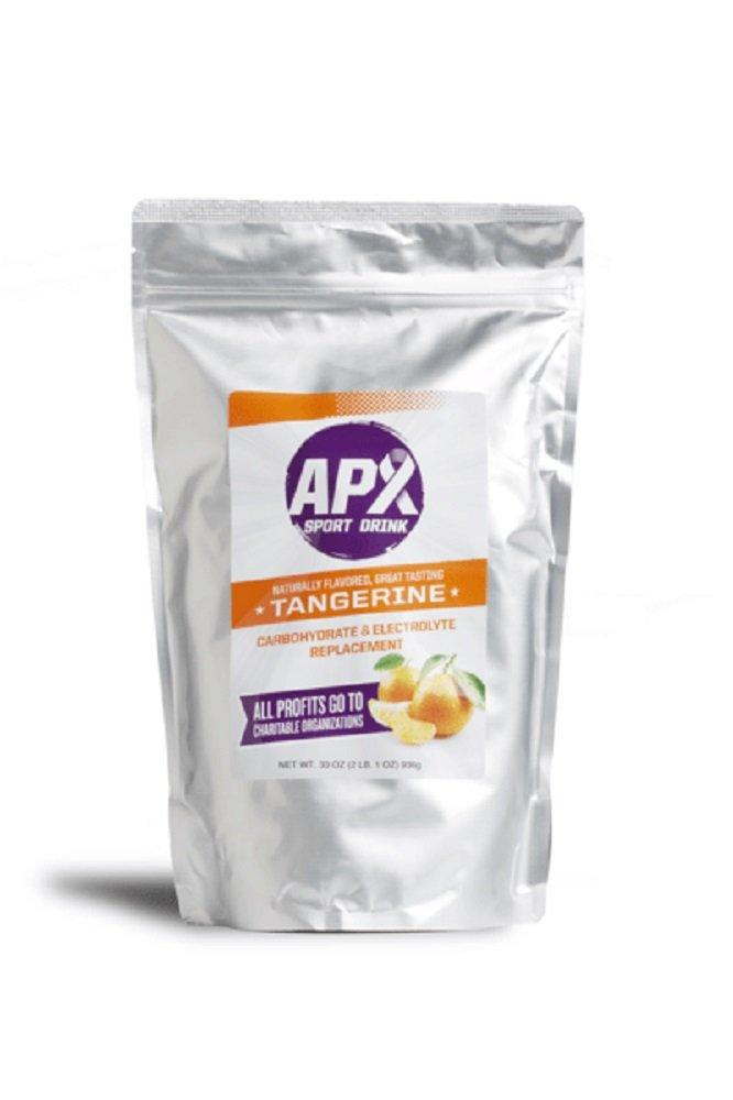 APX Electrolyte Replacement Sport Drink (2 lb. 1 oz.) 33 oz. 936 g Bag (Tangerine)