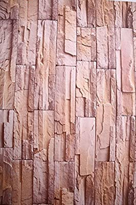 Just Peel and Stick Faux Brick Stone Wallpaper Contact Paper Waterproof Removable Wall Decor Sticker