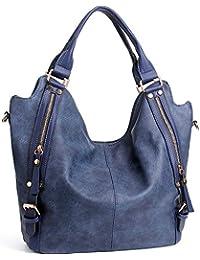 Women Handbags Hobo Shoulder Bags Tote PU Leather...