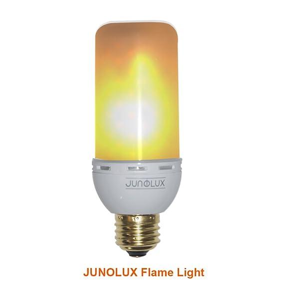 junolux led creative lighting bulbs flame light burning effect