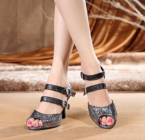 EU 35 8cm Donna Joymod Nero Jazz Heel e Moderno Black MGM BvwPAqxw