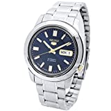 Seiko 5 Automatic Blue & Gold Dial Gents SNKK11J1