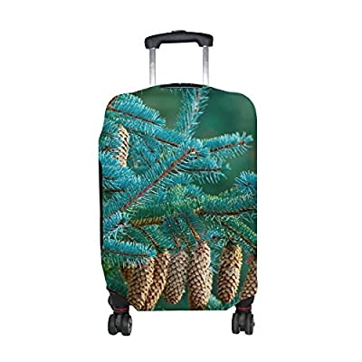 ad115c51e9fb 30%OFF Fir Branches Cones Tree Pattern Print Travel Luggage ...