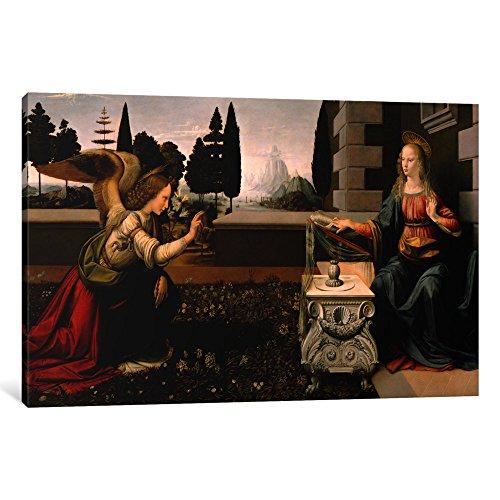 The Annunciation Leonardo Da Vinci - 8