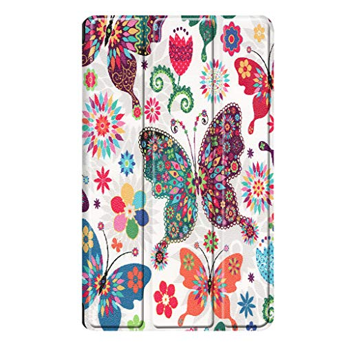 Vansee❤❤for Amazon Kindle Fire 7 2019 2017 Leather Magnetic Stand Flip Case Cover Sleep/Wake (C) -