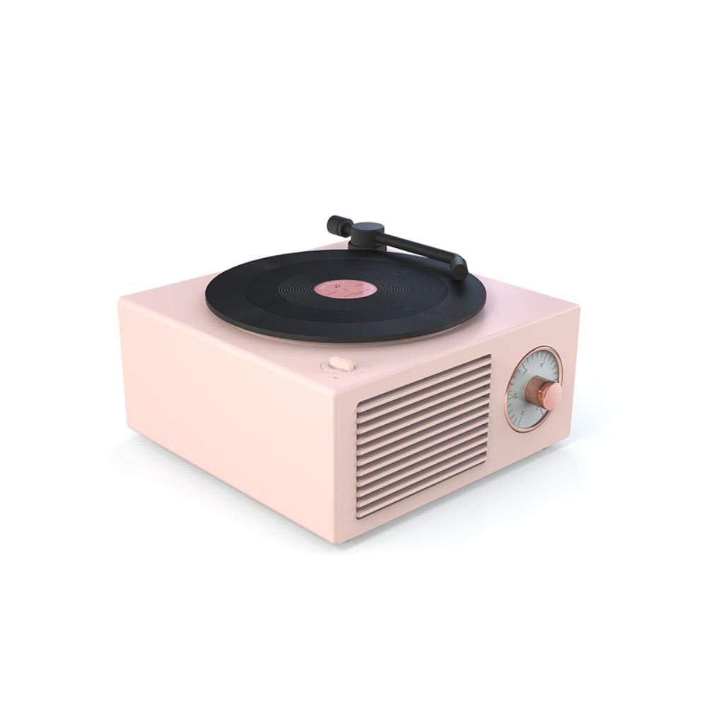 HEYJO Pequeño Reproductor de Discos Multifuncional estéreo de ...