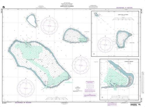 UPC 852663225449, NGA Chart 81345: Mortlock Islands (East Caroline Islands)