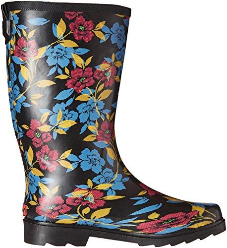 Black Night Women's Rain Bohemian Chooka Boot 4xzq6XvRcw