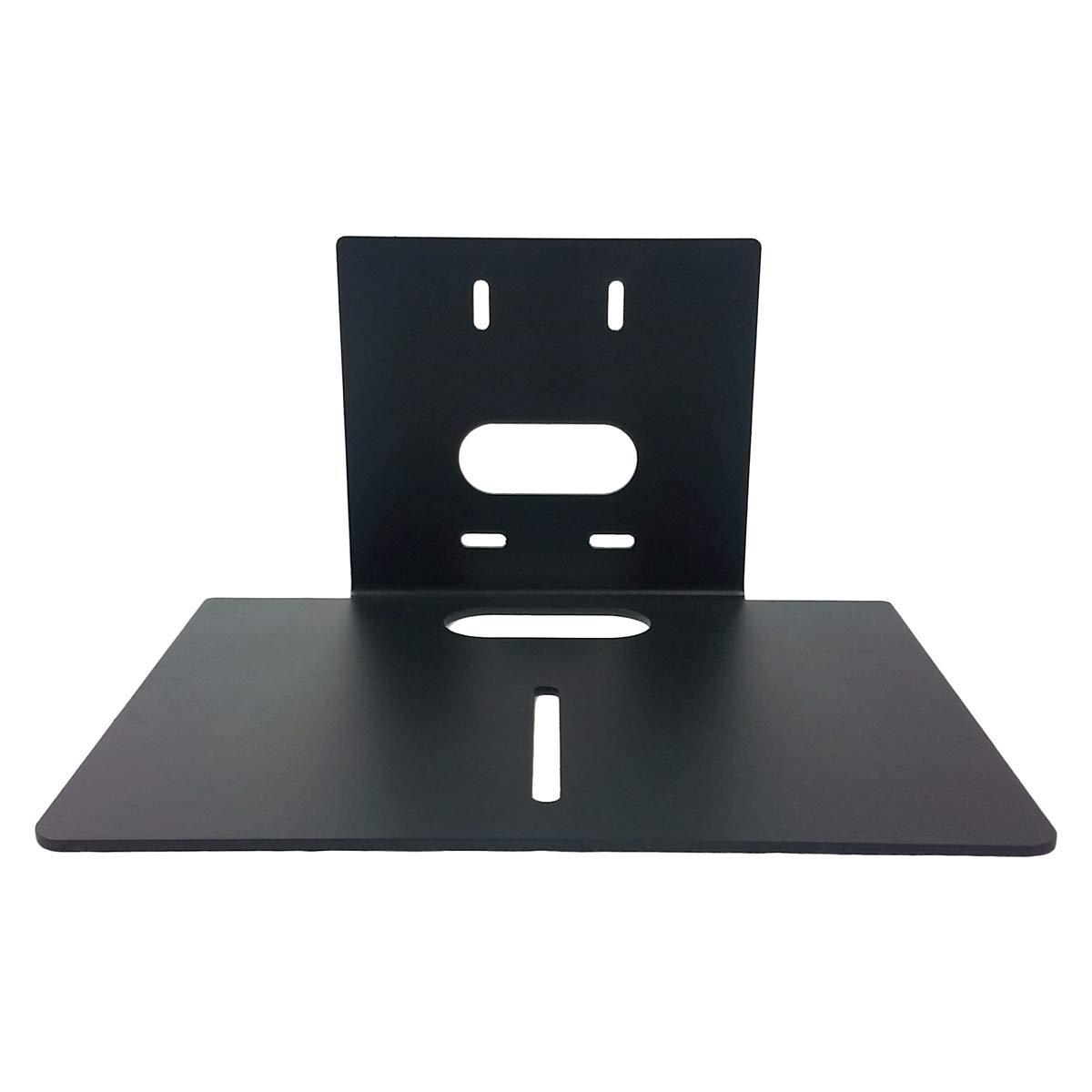 HuddleCamHD HCM-2-BK | Large Universal Wall Mount for PTZ 3X 10X Vaddio Sony Air Cameras Black by HuddleCamHD