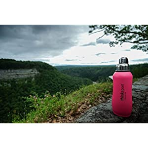 thinksport 750Ml Insulated Sports Bottle, Dark Pink, 25 oz